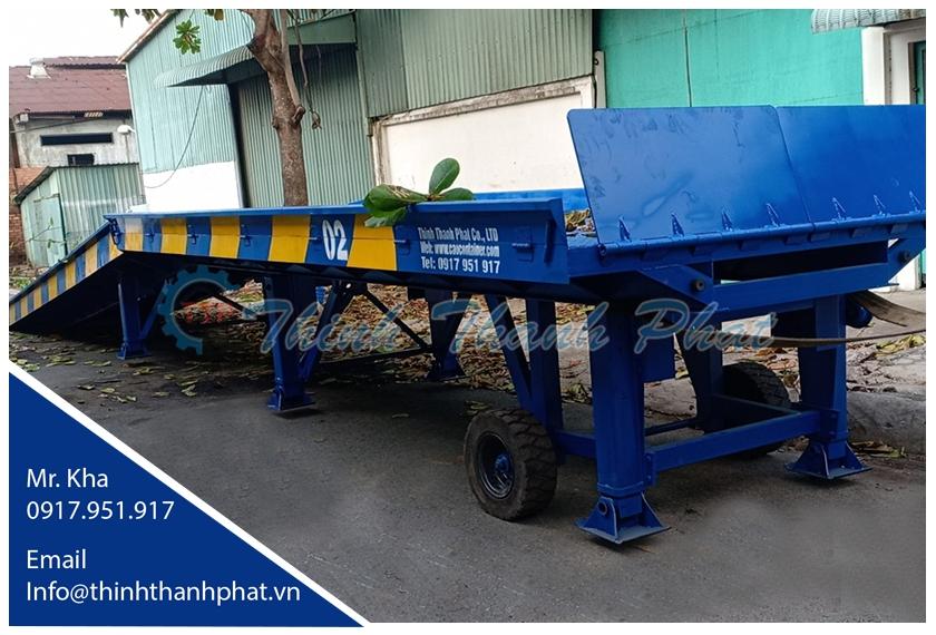 Cầu xe nâng lên container 6 tấn/ 8 tấn/ 10 tấn/ 12 tấn toàn quốc