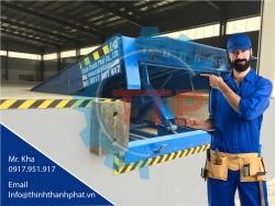 Chuyên cung cấp Sàn nâng thủy lực (Hydaulic dock leveler), Sàn nâng cơ khí (Mechanical dock leveler)